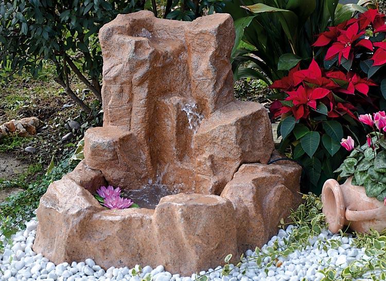 Cascata toce bacino laghetto da giardino fontana for Fontane a cascata da giardino